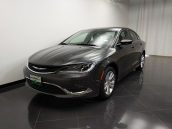 2015 Chrysler 200 Limited - 1240031970