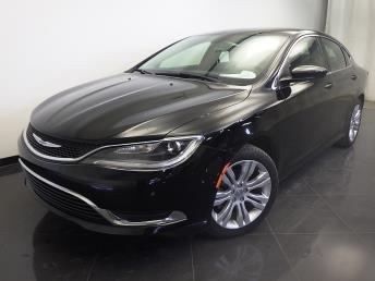 2015 Chrysler 200 - 1310011528