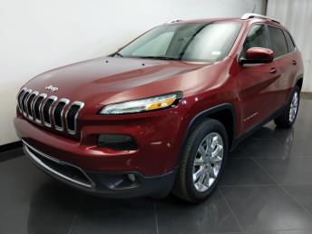 2016 Jeep Cherokee Limited - 1310016989