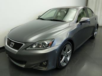 2012 Lexus IS 250  - 1310017989