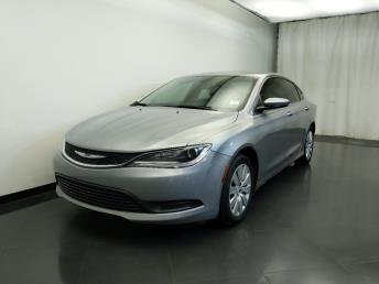 2015 Chrysler 200 LX - 1310019361