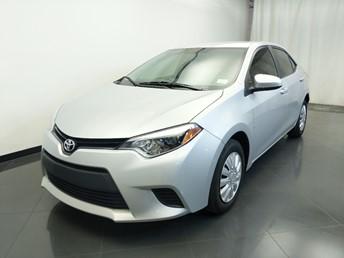 2015 Toyota Corolla L - 1310019644