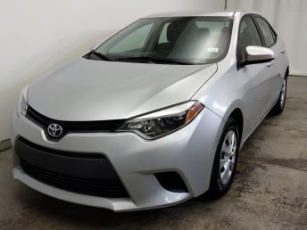 2015 Toyota Corolla LE - 1320012691