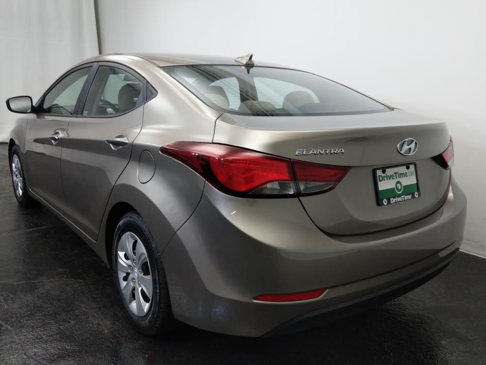 2016 Hyundai Elantra Value Edition - 1320012870