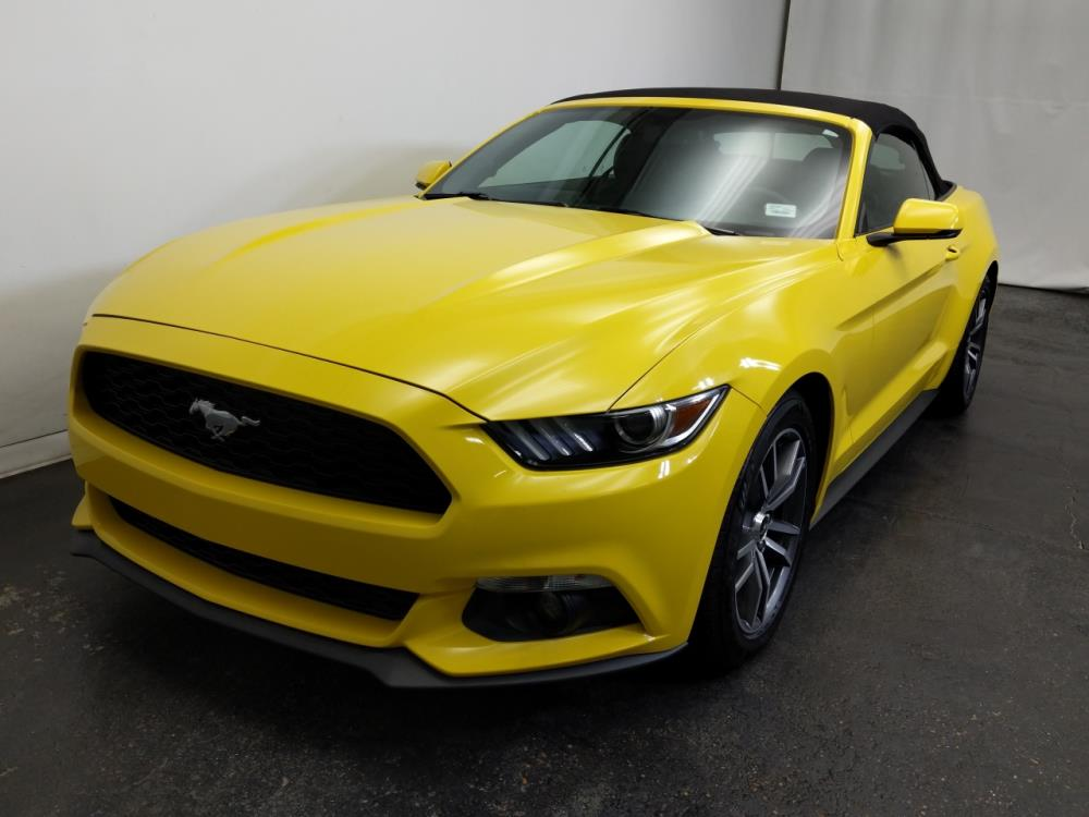 2016 Ford Mustang EcoBoost Premium - 1320013214
