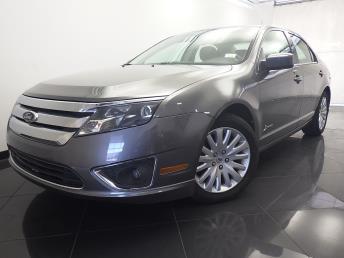 2011 Ford Fusion Hybrid - 1330033469