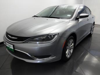 Used 2015 Chrysler 200