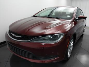 2016 Chrysler 200 LX - 1330036093