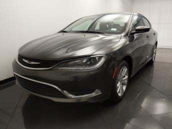 2015 Chrysler 200 Limited - 1330036704
