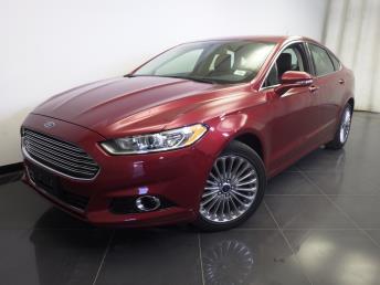 2014 Ford Fusion Titanium - 1370033435