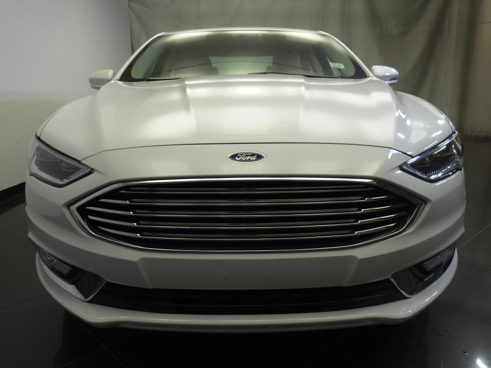 2017 ford fusion titanium for sale in chicago 1370034711 drivetime. Black Bedroom Furniture Sets. Home Design Ideas