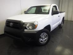 2013 Toyota Tacoma Regular Cab 6 ft