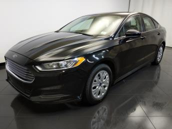 2014 Ford Fusion S - 1370036326