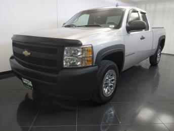 2008 Chevrolet Silverado 1500 Extended Cab Work Truck 6.5 ft - 1370036373