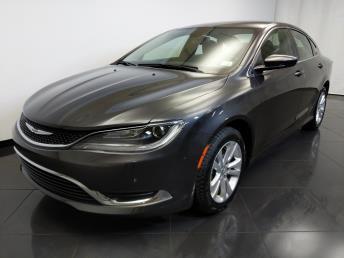 2015 Chrysler 200 Limited - 1370036790