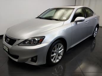 2012 Lexus IS 250  - 1370036874