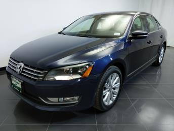 2013 Volkswagen Passat 2.5L SEL Premium - 1370037308