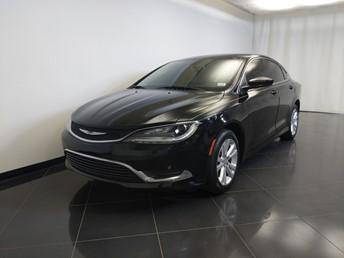 2016 Chrysler 200 Limited - 1370039383