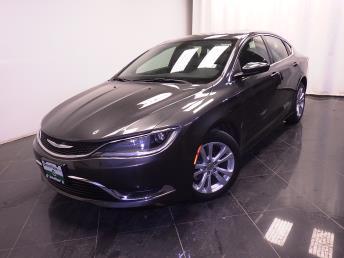 2015 Chrysler 200 - 1380031849