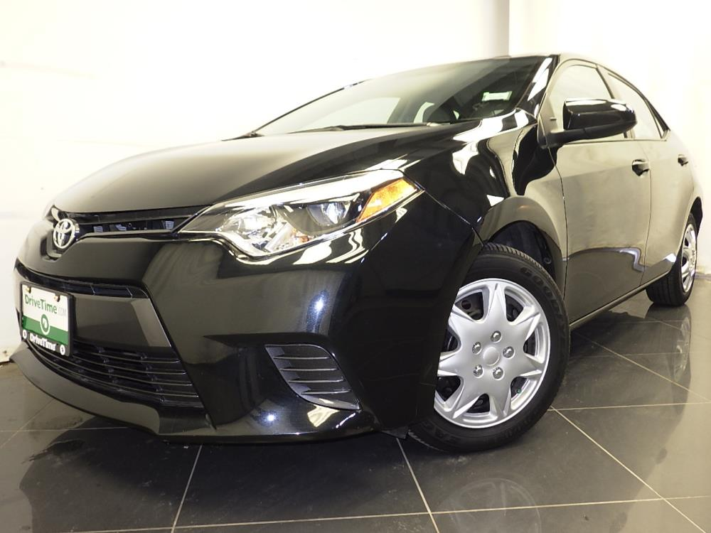 2016 toyota corolla le plus for sale in houston 1380037465 drivetime. Black Bedroom Furniture Sets. Home Design Ideas