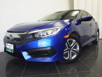 2016 Honda Civic LX - 1380038066