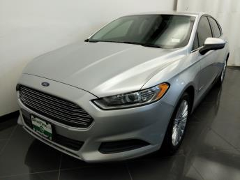2014 Ford Fusion S Hybrid - 1380039774