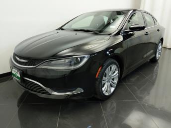 2015 Chrysler 200 Limited - 1380040090