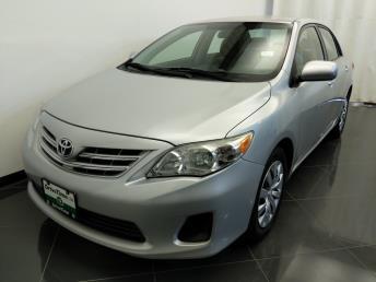 2013 Toyota Corolla LE - 1380040309