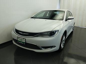 2015 Chrysler 200 Limited - 1380042383