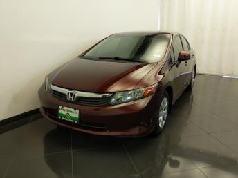 2012 Honda Civic LX - 1380042492