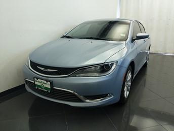 2015 Chrysler 200 Limited - 1380042494