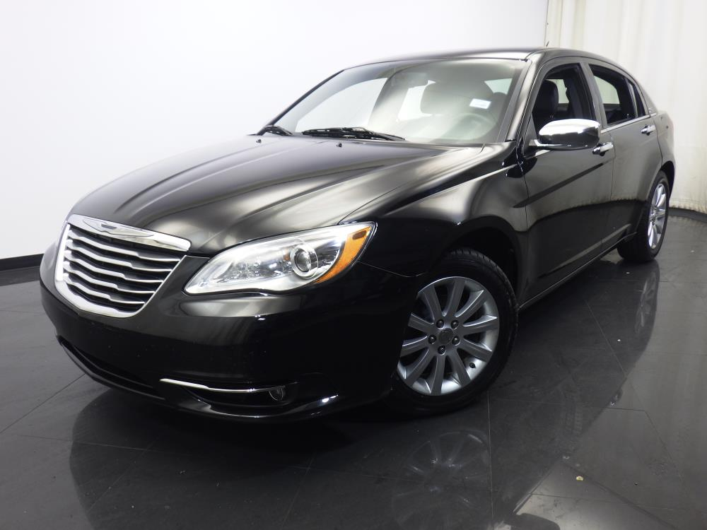 2013 chrysler 200 for sale in dayton 1420022108 drivetime. Black Bedroom Furniture Sets. Home Design Ideas