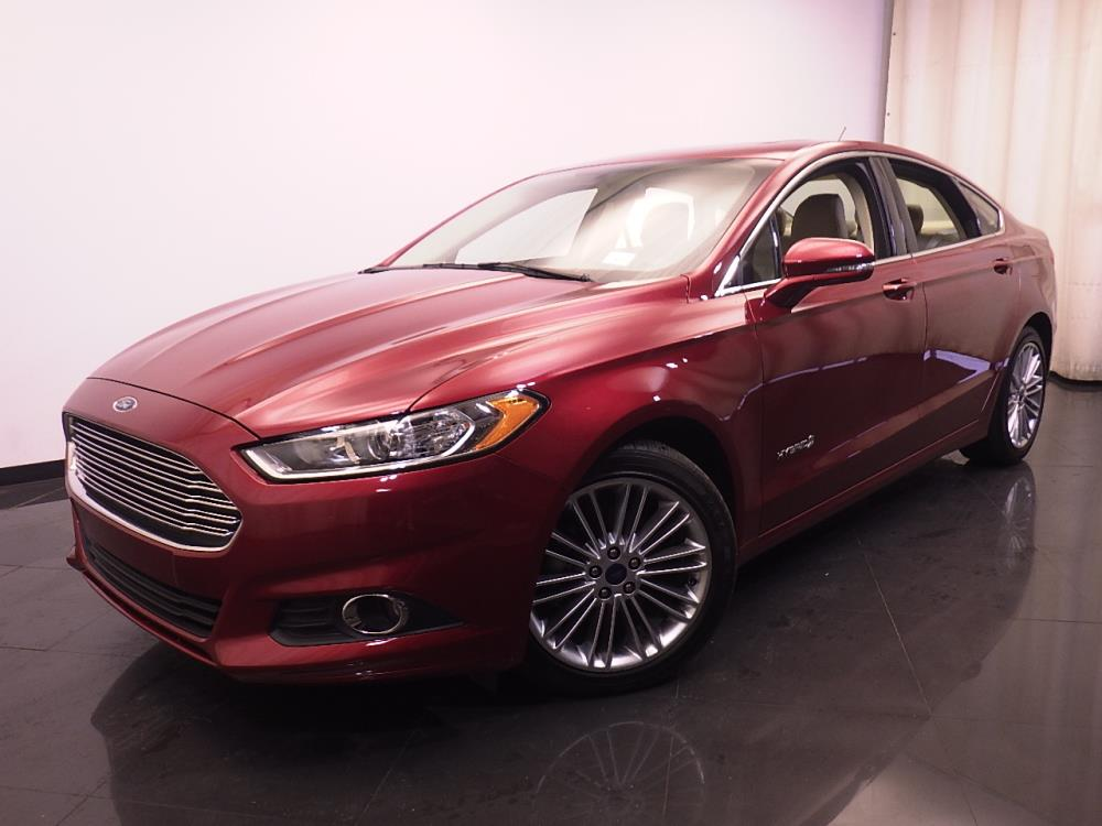 2014 ford fusion se hybrid for sale in indianapolis 1420026167 drivetime. Black Bedroom Furniture Sets. Home Design Ideas
