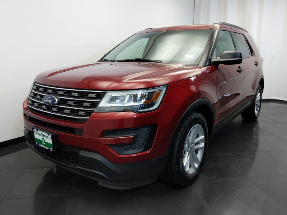 2016 ford explorer for sale in cincinnati 1420028402 drivetime. Black Bedroom Furniture Sets. Home Design Ideas