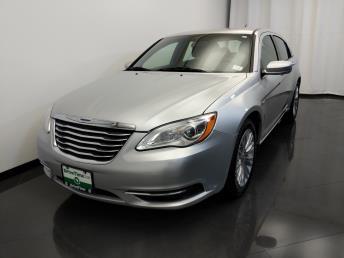 2012 Chrysler 200 LX - 1420029008