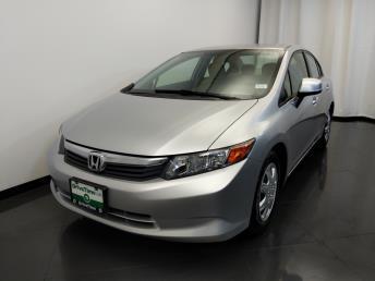 2012 Honda Civic LX - 1420030084