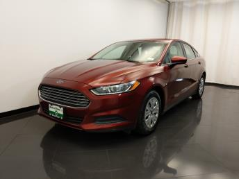 2014 Ford Fusion S - 1420030753