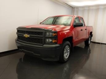 2015 Chevrolet Silverado 1500 Double Cab Work Truck 6.5 ft - 1420030952