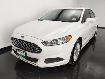 2014 Ford Fusion SE Hybrid - 1530015644