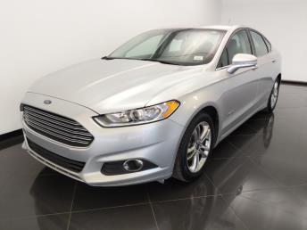2015 Ford Fusion SE Hybrid - 1530015645