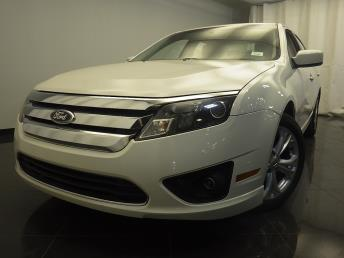 Used 2012 Ford Fusion