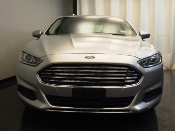2013 Ford Fusion S - 1580004955