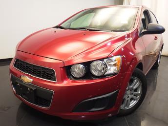 2012 Chevrolet Sonic LS - 1580005423