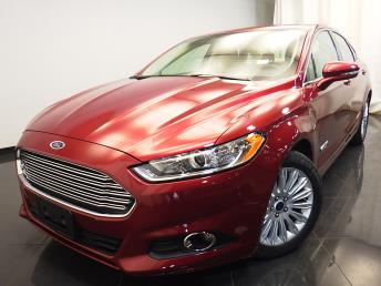 2015 Ford Fusion Energi Plug-In Hybrid SE Luxury - 1580005437