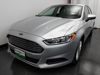 2015 Ford Fusion S Hybrid - 1580007022