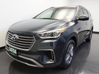 2017 Hyundai Santa Fe SE - 1660013340