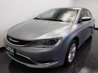 2015 Chrysler 200 Limited - 1660013748