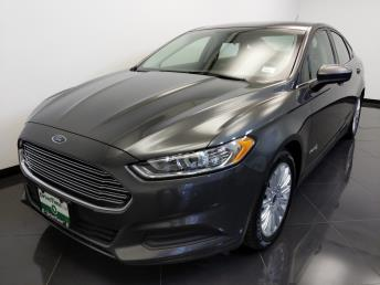 2015 Ford Fusion S Hybrid - 1660013814