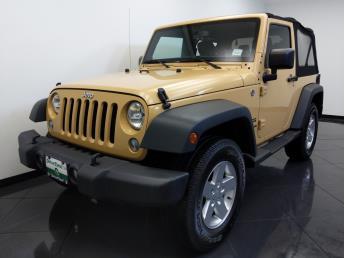 2014 Jeep Wrangler Sport - 1660013820