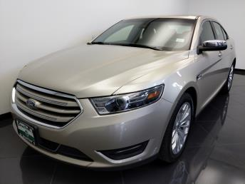 2017 Ford Taurus Limited - 1660013888